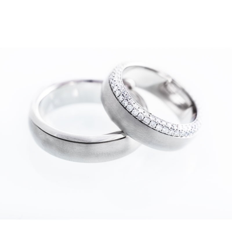 custom made diamond wedding bands in vancouver